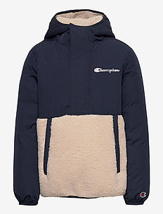 Hooded Jacket - fleece-kleidung - navy blazer