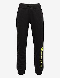 Rib Cuff Pants - spodnie dresowe - black beauty a