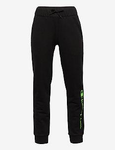 Rib Cuff Pants - joggings - black beauty d