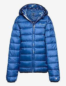 Hooded Jacket - daunen- und steppjacken - baleine blue