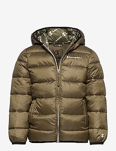 Hooded Jacket - daunen- und steppjacken - military olive