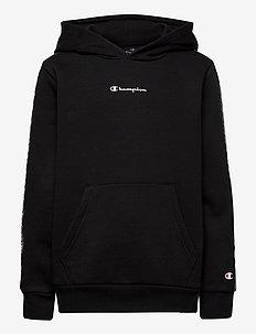 Hooded Sweatshirt - kapuzenpullover - black beauty