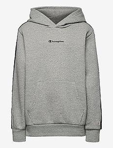Hooded Sweatshirt - kapuzenpullover - gray melange light