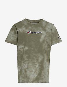 Crewneck T-Shirt - short-sleeved - deep lichen