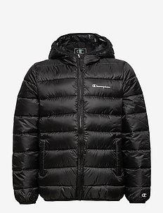 Hooded Jacket - geïsoleerde jassen - black beauty