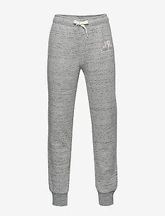 Rib Cuff Pants - GREY