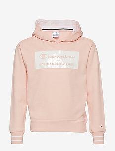 Hooded Sweatshirt - IMPATIENS PINK