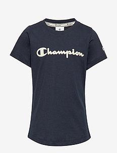 Crewneck T-Shirt - kurzärmelige - sky captain