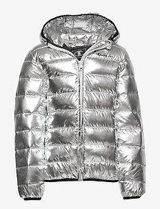 Hooded Jacket - COOL GRAY 2C