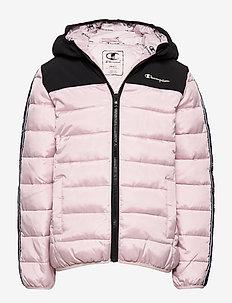 Hooded Jacket - daunen- und steppjacken - violet ice