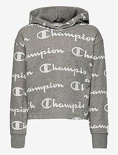 Hooded Sweatshirt - hettegensere - gray melange  light al (oxgm)