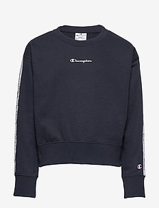 Crewneck Croptop - sweatshirts - sky captain
