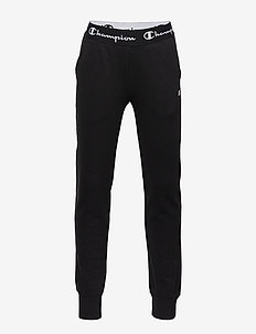 Rib Cuff Pants - jogginghosen - black beauty