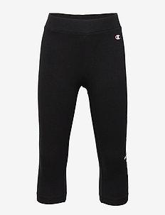 3/4 Leggings - BLACK BEAUTY