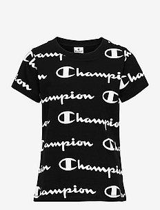 Crewneck T-Shirt - short-sleeved t-shirts - black beauty  al (nbk)