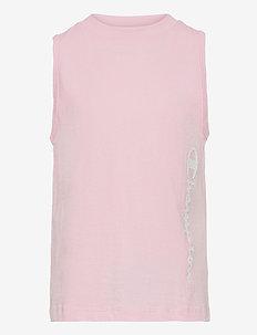 Tank Top - sleeveless - parfait pink