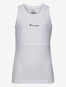 Tank Top - bez rękawów - white