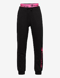 Rib Cuff Pants - joggings - black beauty