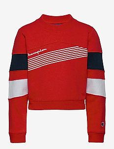 Crewneck Sweatshirt - sweat-shirt - flame scarlet