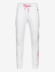 Rib Cuff Pants - joggings - white