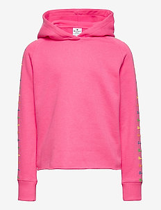 Hooded Sweatshirt - hoodies - knochout pink fluo
