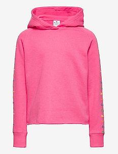 Hooded Sweatshirt - pulls à capuche - knochout pink fluo