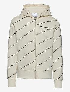 Hooded Full Zip Sweatshirt - kapuzenpullover - papyrus al (ofw)