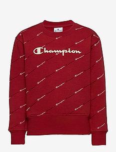 Crewneck Sweatshirt - sweatshirts - rio red al (cmr)