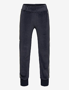 Rib Cuff Pants - sweatpants - sky captain