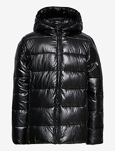 Hooded Jacket - daunen- und steppjacken - black beauty
