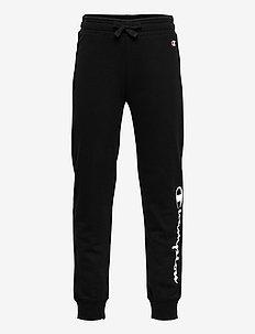 Rib Cuff Pants - sweatpants - black beauty