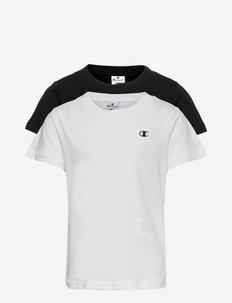 2pack Crew-Neck - short-sleeved t-shirts - white
