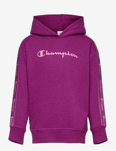 Hooded Sweatshirt - hoodies - purple wine