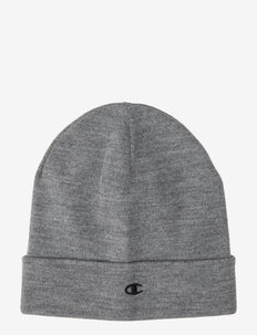 Beanie Cap - GREY MELANGE  LIGHT