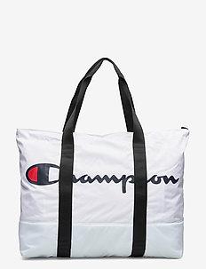 Large Shoulder Bag - sacs en toile - white