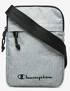 Medium Shoulder Bag - gender neutral - gray melange light