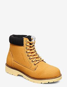 High Cut Shoe UPSTATE - flache stiefeletten - mineral yellow