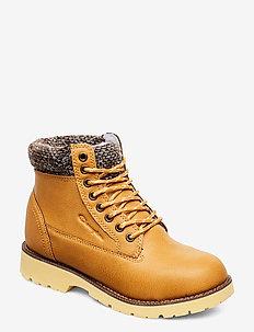 High Cut Shoe UPSTATE - flache stiefeletten - mineral yellow a