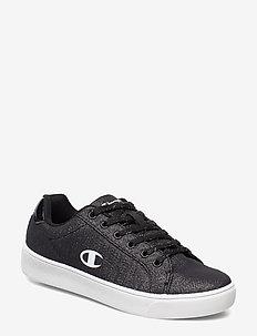 Low Cut Shoe ALEX CANVAS GLITTER - sneakers - black beauty
