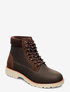 High Cut Shoe UPSTATE - shoes - brown