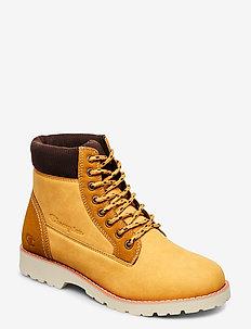 High Cut Shoe UPSTATE - shoes - custard yellow