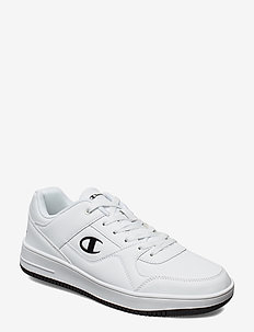 Low Cut Shoe REBOUND LOW PU - niedriger schnitt - white