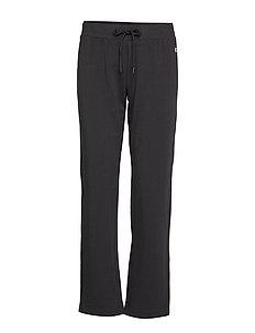 Drawstring Pants - pants - black beauty