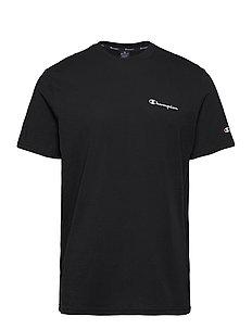 Crewneck T-Shirt - topy sportowe - black beauty