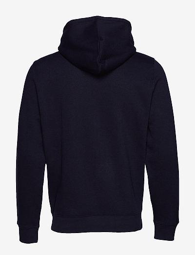Champion Hooded Full Zip Sweatshirt- Bluzy Sky Captain