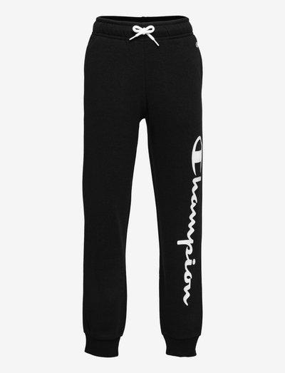 Rib Cuff Pants - sporthosen - black beauty