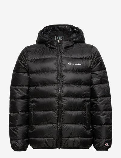 Hooded Jacket - kurtki ocieplane - black beauty
