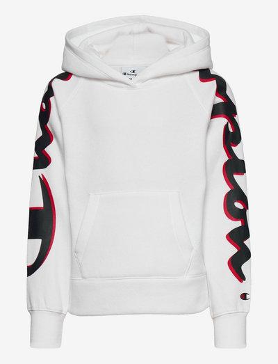 Hooded Sweatshirt - hoodies - white