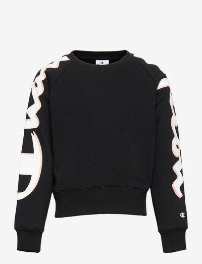 Crewneck Sweatshirt - sweaters - black beauty