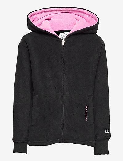 Hooded Full Zip Sweatshirt - kapuzenpullover - black beauty